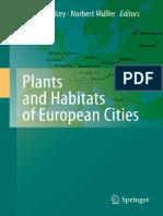 Dana, Juan García-De-Lomas, Norbert Müller, John G. Kelcey-Plants and Habitats of European Cities