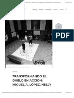 TRANSFORMANDO EL DUELO EN ACCIÓN