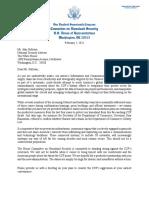 GOP Letter to Sullivan