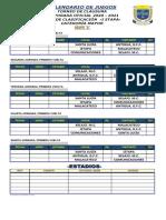 Torneo Clausura 2021 - Clasificación Grupo A