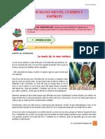 VER RELIGION- 3RO DE SECUNDARIA-PRIMER TRIMESTRE