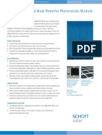 data sheet of ASE-DGF-300W solar PV module