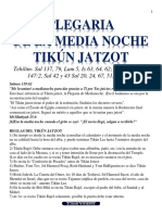 Plegaria de Media Noche - Tikún Jatzot