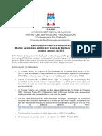 Edital 02 2020 - Ppgi Cpg-propep Ufal