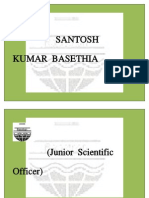SANTOSH KUMAR BASETHIA