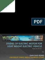 Electic Motors Presentation