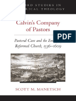 Calvins Company of Pastors Pastoral Care and the Emerging Reformed Church, 1536-1609 by Scott M. Manetsch (z-lib.org)
