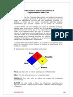 Clasificación de sustancias químicas II
