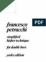 Petracchi - Simplified higher technique