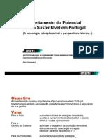 Aproveitamento do Potencial Eólico Sustentável em Portugal - eólica