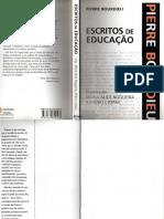 Pierre Bourdieu - Escritos Da Educacao
