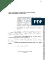 ACP DPESC - Acórdão Revista Vexatória