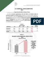 Balanza Comercial Agroalimentaria Mexico-EEUU  2014
