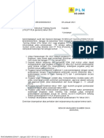 Surat Pelaksanaan ITN 2021