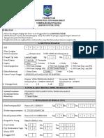 Formulir Isian Pegawai CPNS Pemprov NTB