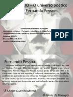 WEBFÓLIO – O universo poético de Fernando Pessoa