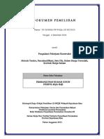 Dokumen Pemilihan Pembangunan Rumah Susun STISIPOL Raja Haji