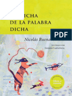 LA DICHA DE LA PALABRA DICHA