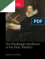 La Guía Routledge de La Tradición Estoica John Sellars