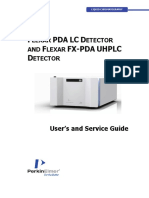 09936954A Flexar PDA and FX-PDA UHPLC Detector Users and Service Guide