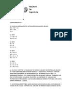 LAB 1. DESIGUALDADES LINEALES Y PROBLEMAS INTRODUCTORIOS