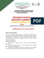 ACTIVIDAD 1 PROYECTO BUEN VIVIR LUNES 4 ENERO 2021