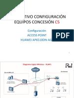 INSTRUCTIVO CONFIGURACIÓN FAT - Huawei AP6510DN-AGN