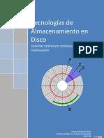 Tecnologías de Almacenamiento en disco
