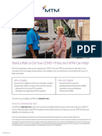 COVID 19 Vaccine Ride Flyer 1