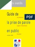 Guide de Prise de Parole en public