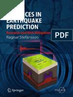 (Springer Praxis Books - Geophysical Sciences) Ragnar Stefánsson (Auth.)-Advances in Earthquake Prediction_ Research and Risk Mitigation -Springer-Verlag Berlin Heidelberg (2011)