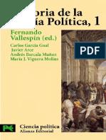 Vallespin f Historia de La Teoria Politica 1 1