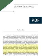 elias, norbert - civilización y violencia