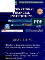 ppt on international financial institutions