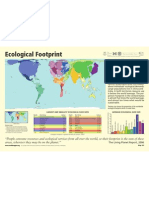 world map eco footprint impronta ecologica