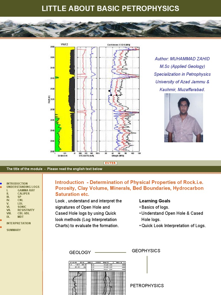 learninggeoscience_Petrophysics | Chemistry | Applied And