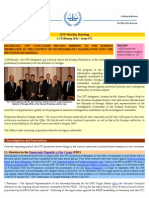 OTP Weekly Briefing - 1-7 February 2011 - Issue #73