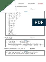 Soluciones Modelo Ex 1 bach MAT I 1ªev