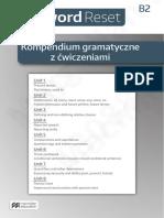 Password Broszura B2 Kompendium Gramatyczne z Cwiczeniami