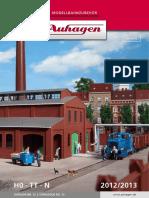 Auhagen 2012 Katalog
