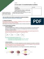 Ch11 D'Un Élément à Un Autre^J La Transformation Nucléaire