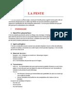 15) Peste - épidemio, diag, PEC, prévention