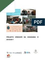 Projeto Crescer em Cidadania VI 2016 2017
