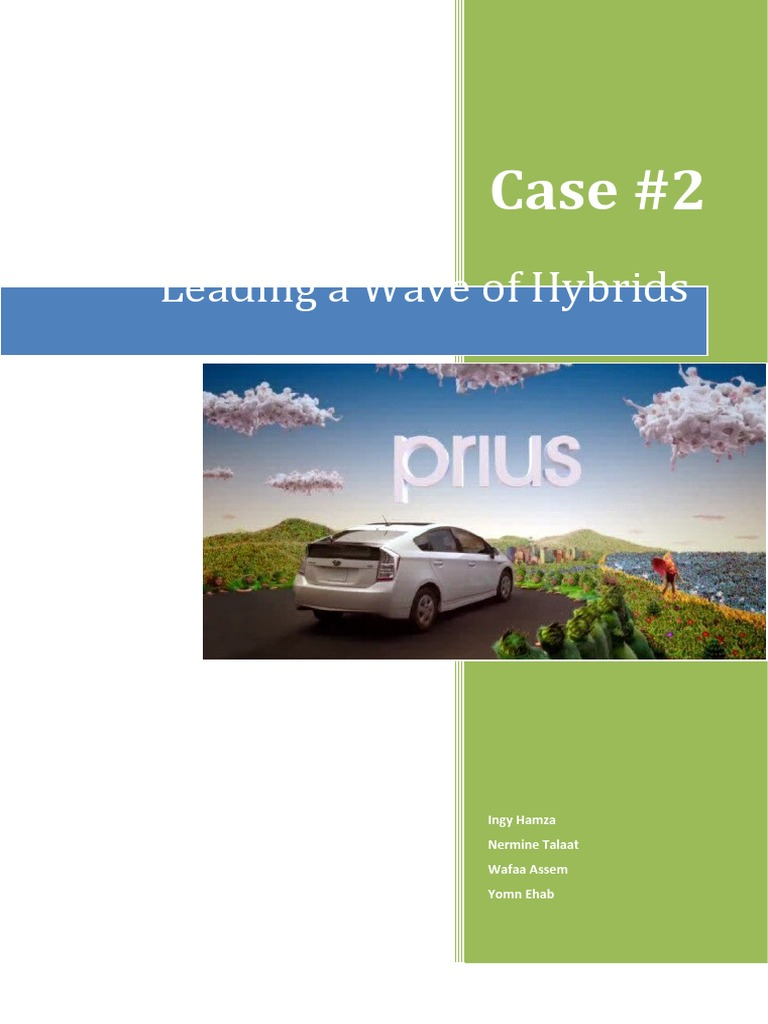 prius leading a wave of hybrids