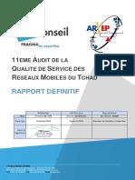 1703-ET02v1.0 ARCEP TD Rapport Definitif Audit QoS 2017