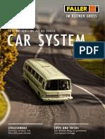 Faller 2013 Folder car system