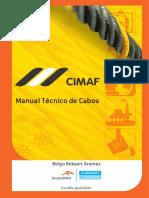CatalogoCIMAF2014 Cabos de aço