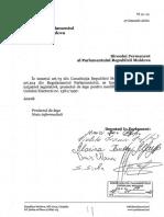 Proiectul de lege pentru modificarea și completarea Codului electoral