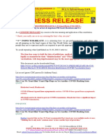 20210203-PRESS RELEASE Mr G. H. Schorel-Hlavka O.W.B. ISSUE -Why to Arrest & Imprison PM Scott Morrison and Co