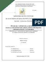 Mémoire Master  Merouani